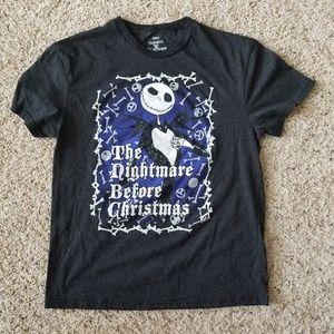 3/$18 The Nightmare Before Christmas Tee Black